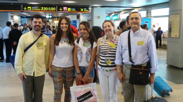 Voluntarios camino de Consuelo (R. Dominicana)