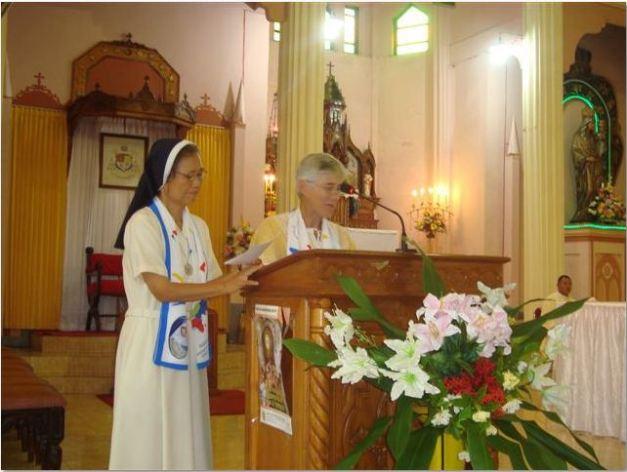 Madre General M. Isabel Moraza