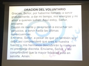 Oración del Voluntario