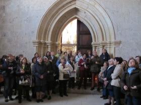Los Voluntarios visitan la Cartuja de Miraflores de Burgos