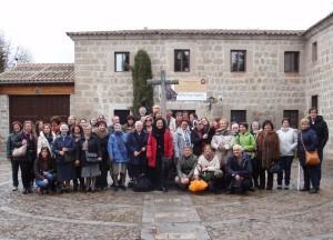Voluntarios en el Monasterio de la Encarnación (Ávila)