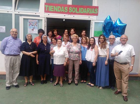 Voluntarios Tiendas Solidarias