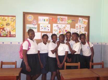 Alumnas de la Escuela