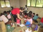 Voluntaria en Evinayong (Guinea Ecuatorial)