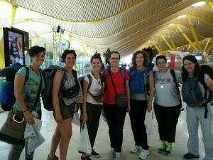 Grupo de voluntarias de Evinayong (Guinea Ecuatorial)