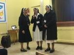 M. Ana Rosa con M. Fermina y M. Priscila