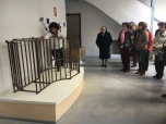 Visitando el museo del queso