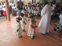 Niña Marìa en Yaoundé ( Camerùn)