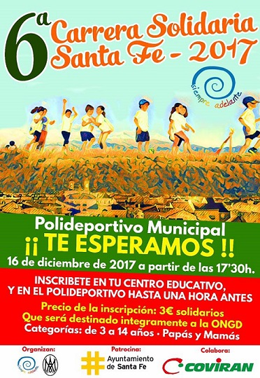 Carrera solidaria Santa Fe