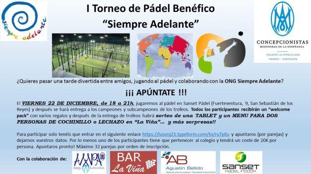 I Torneo de Padel Hortaleza 2017