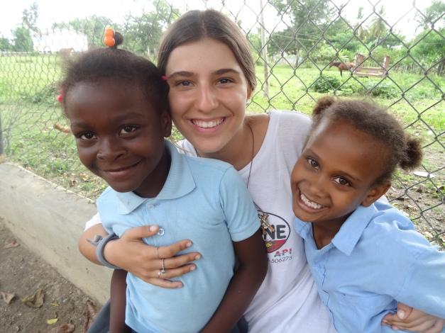 Lucia Orts en Consuelo (R. Dominicana)